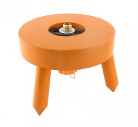 Base plate for surveying device