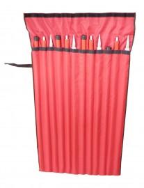 Aluminium poles: 4x poles + 4x extensions + Case